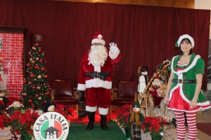2015 Christmas Village - Pictures with Santa (2)